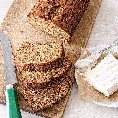 """<p>This fluffy quick bread uses fresh grated pumpkin and a DIY spice blend of cinnamon, cloves, and vanilla for an easy homemade recipe.</p><p><strong><a href=""""https://www.countryliving.com/food-drinks/recipes/a2993/pumpkin-bread-recipe/"""" rel=""""nofollow noopener"""" target=""""_blank"""" data-ylk=""""slk:Get the recipe"""" class=""""link rapid-noclick-resp"""">Get the recipe</a>.</strong></p>"""