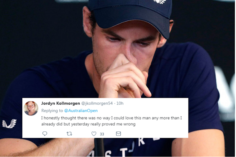 Andy Murray's Sweet Response to a Fan at Australian Open is Winning Hearts Online