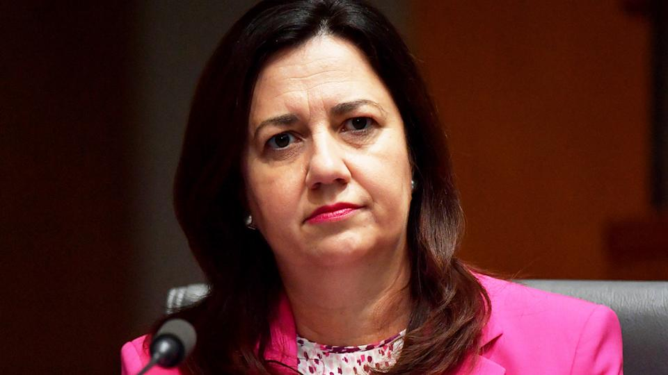 Anastacia Palaszxzuk (pictured) has placed greater Brisbane in a three-day lockdown. (Getty Images)