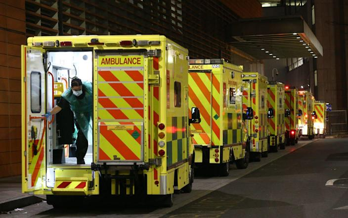 NHS England figures show England's hospitals now have more Covid-19 patients than during April's first-wave peak - PA