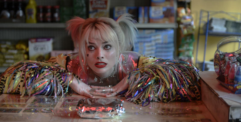 MARGOT ROBBIE as Harley Quinn in Warner Bros. Pictures' <i>BIRDS OF PREY (AND THE FANTABULOUS EMANCIPATION OF ONE HARLEY QUINN)</i>, a Warner Bros. Pictures release.