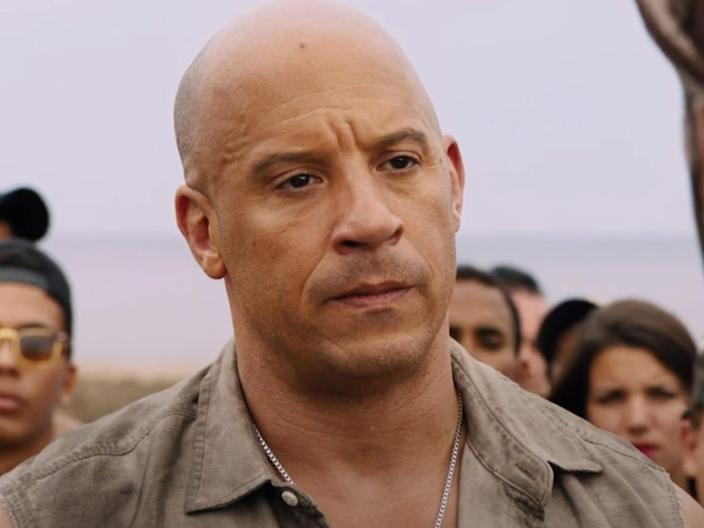 """Vin Diesel as Dominic Toretto in """"The Fate of the Furious."""""""