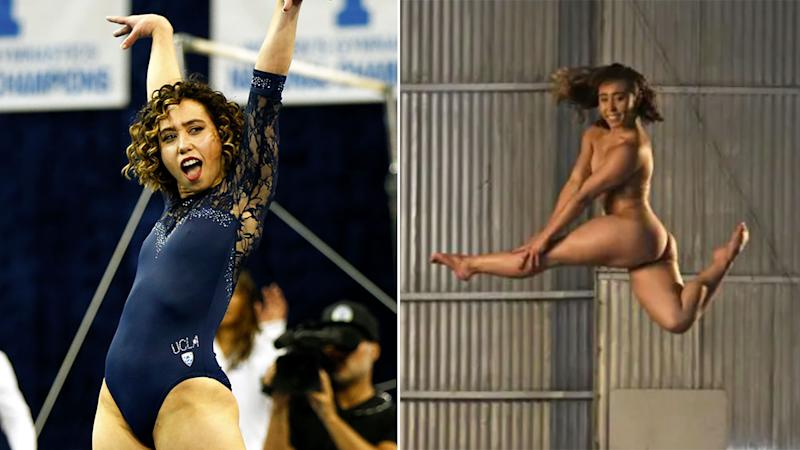 Katelyn Ohashi's photo shoot for ESPN's 'The Body' issue has left fans in awe.