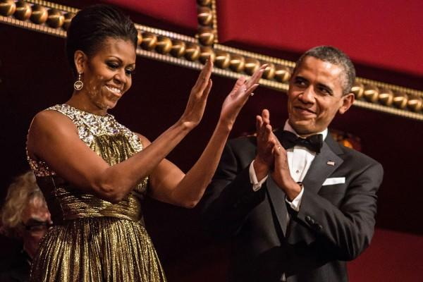 """<div class=""""caption-credit""""> Photo by: Rex USA</div><div class=""""caption-title""""></div>During last weekend's Kennedy Center Honors gala, MObama was a solid-gold smash in a metallic Michael Kors gown. She snuck this one in just under the wire, but it's still one of our top picks for 2012. <br> <br>"""