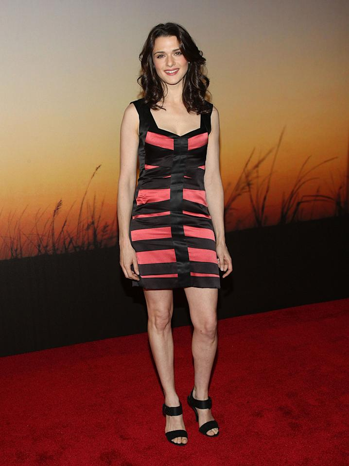 """<a href=""""http://movies.yahoo.com/movie/contributor/1800019614"""">Rachel Weisz</a> at the MoMa Film benefit gala honoring Baz Luhrmann in New York - 11/10/2008"""