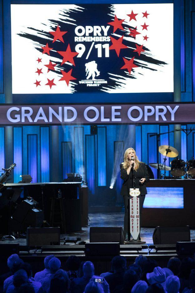 """Trisha Yearwood performs and remembers 9/11 on """"Opry Live"""" - Credit: Chris Hollo / Hollo Photographic"""