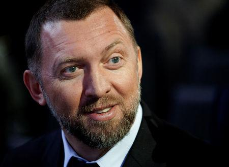 FILE PHOTO: Russian tycoon Oleg Deripaska, president of En+ Group, attends the annual meeting of the World Economic Forum (WEF) in Davos January 23, 2013.   REUTERS/Denis Balibouse/File Photo
