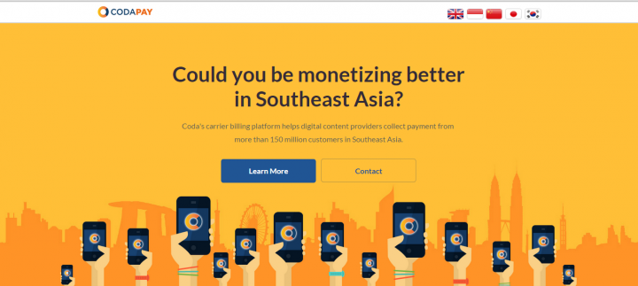 Coda Payments partners with top telcos in the Philippines