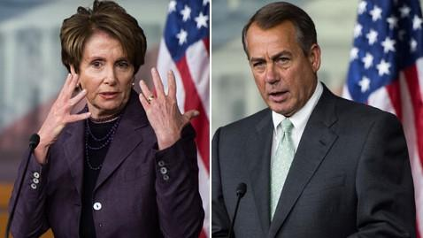 gty pelosi boehner tk 130418 wblog Boehner, Pelosi Hint at Next Showdowns in Congress