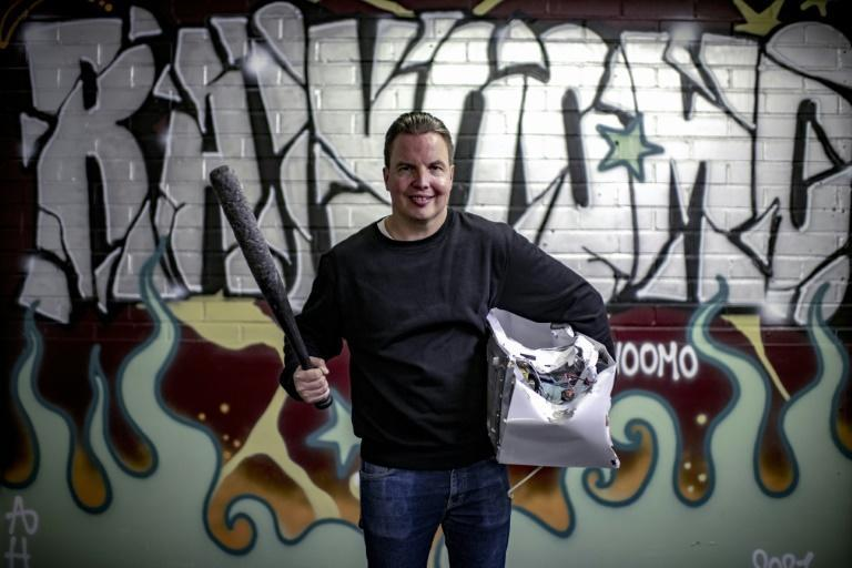 Janne Raninen became embroiled in gangs while growing up in a disadvantaged suburb in Sweden (AFP/Olivier MORIN)
