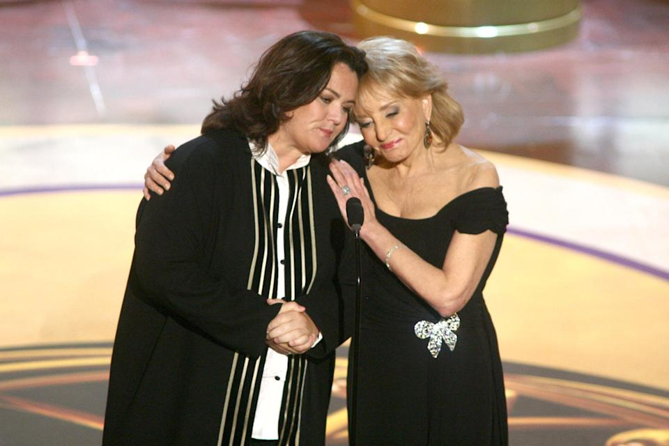 Rosie O'Donnell and Barbara Walters announced at the 2006 Emmys that she would be joining the show. A year later, O'Donnell left the show. (Photo: Getty Images)