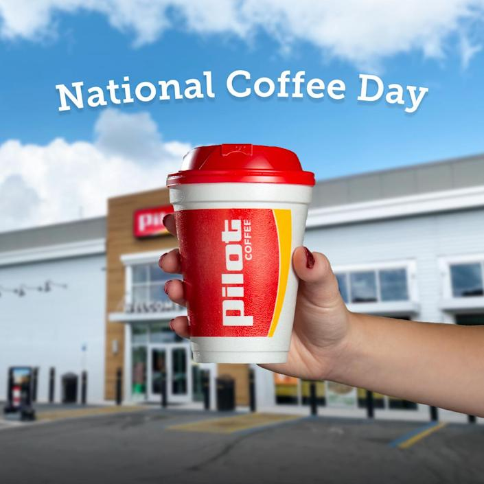 National Coffee Day Pilot (Pilot Flying J)
