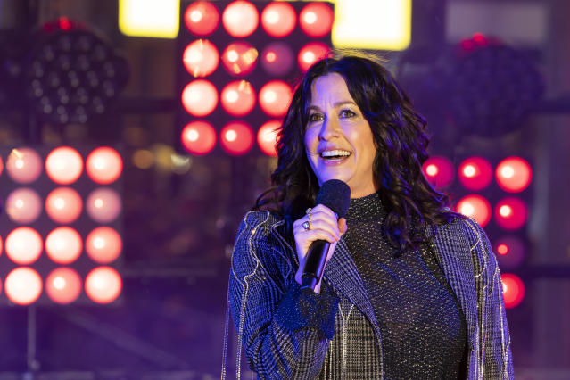 Alanis Morissette is now a mother of three. (AP)