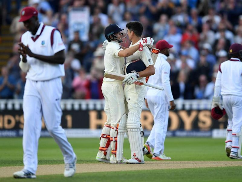 England consigned the West Indies to a landslide defeat by an innings and 209 runs (Getty)