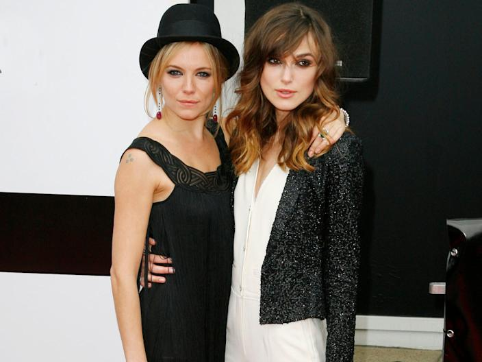 sienna miller and kiera knightley