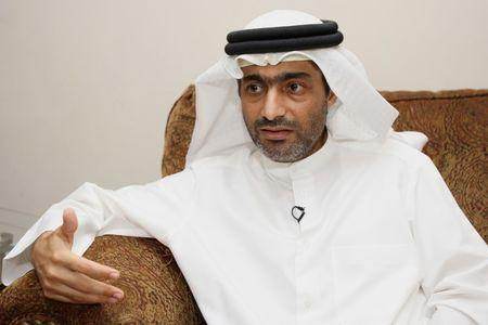 Ahmed Mansoor, one of the five political activists pardoned by the United Arab Emirates, speaks to Reuters in Dubai