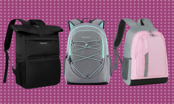Ditch the big plastic coolers for comfortable backpacks that better keep your food and drinks cooler.  (Photo: Amazon)