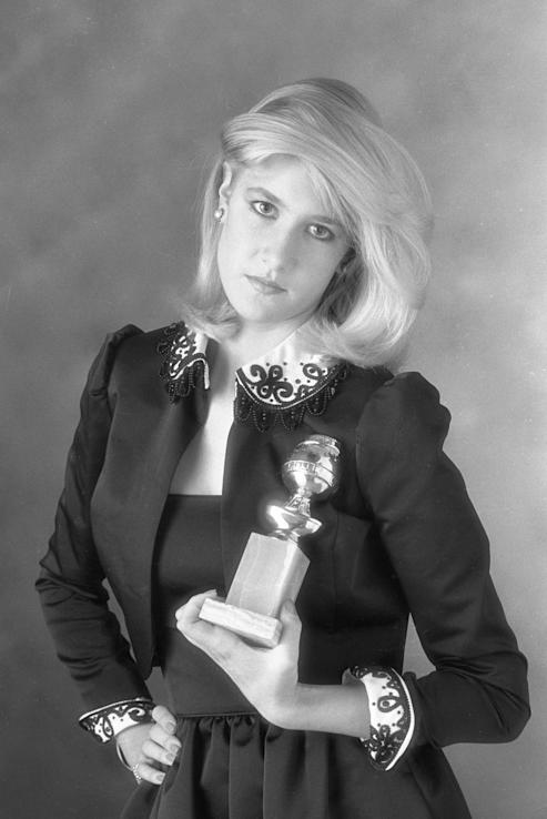 Laura Dern as Miss Golden Globe in 1982. (Photo: Getty Images)