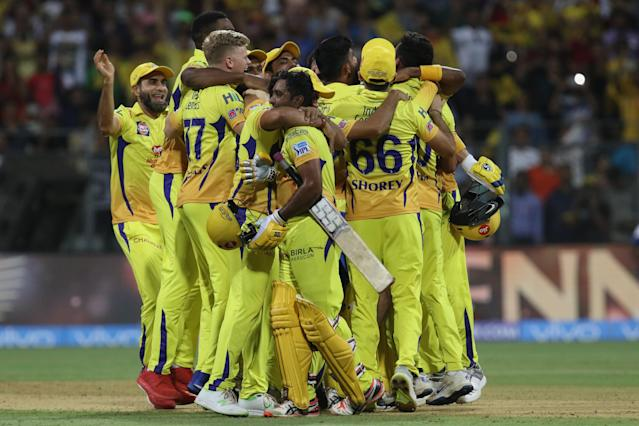 <p>Chennai become the first team to beat a particular opposition four times in an IPL season. They defeated Hyderabad four times in IPL 2018 </p>