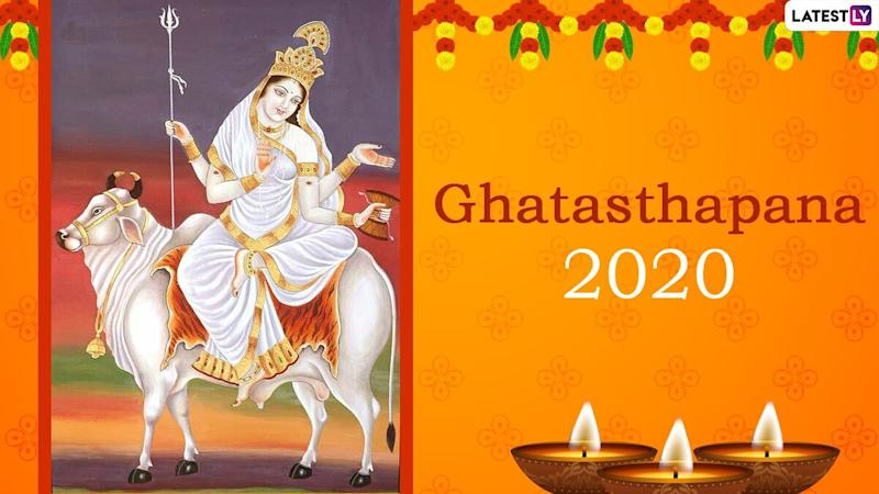 Ghatasthapana 2020 Date and Shubh Muhurat Timing For Navratri Day 1: Know Puja Vidhi Rituals and Traditions For First Day of Nine-Day Sharad Navaratri Festival