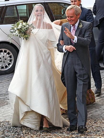All the Details About the Duke of Wellington's Daughter's Lavish Wedding (and Her Green Shoes!)  The Royals