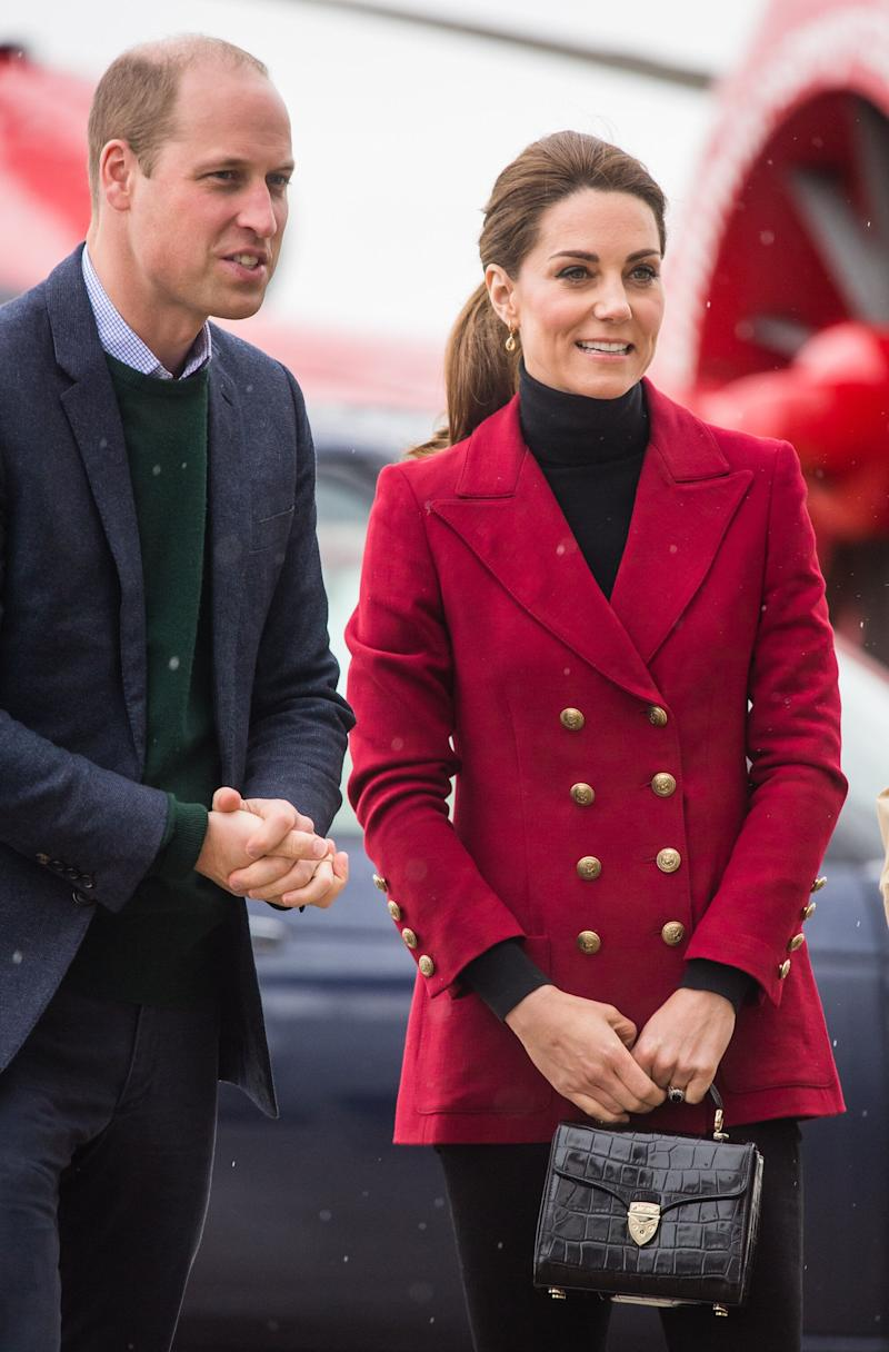 The Duke and Duchess of Cambridge are currently visiting North Wales.