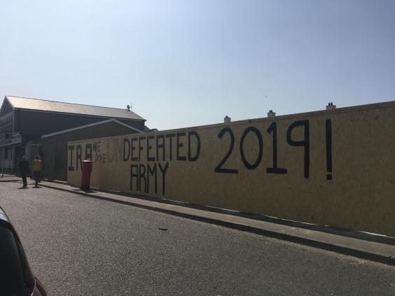 The writing is on the wall in Derry for those who killed Lyra McKee