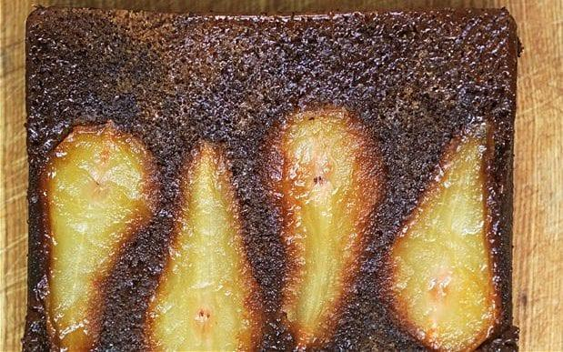 Pear and ginger cake - Laura Hynd