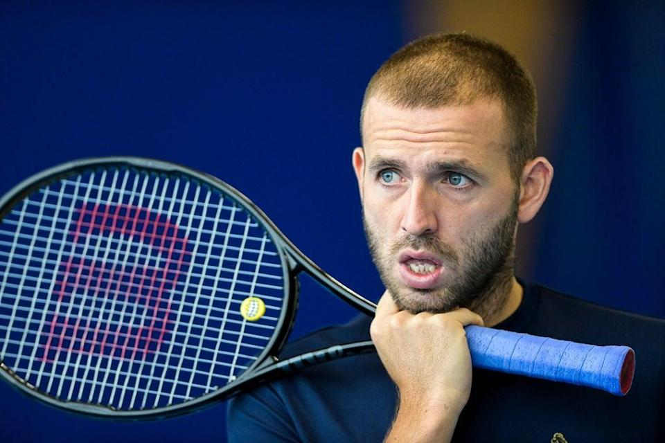 Dan Evans is the British No. 1 (BELGA MAG/AFP via Getty Images)