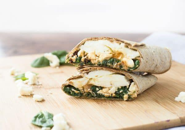 """<p>The egg white and spinach wrap at Starbucks is a popular quick breakfast, but if you don't live near a Starbucks or you just want to try a homemade version, this recipe is for you. We love the combination of feta, spinach, and sun-dried tomatoes.</p><p><strong>Get the recipe at <a href=""""https://www.rachelcooks.com/2016/08/29/copycat-starbucks-egg-white-wrap-with-spinach-and-feta/"""" rel=""""nofollow noopener"""" target=""""_blank"""" data-ylk=""""slk:Rachel Cooks"""" class=""""link rapid-noclick-resp"""">Rachel Cooks</a>.</strong></p><p><strong><a class=""""link rapid-noclick-resp"""" href=""""https://go.redirectingat.com?id=74968X1596630&url=https%3A%2F%2Fwww.walmart.com%2Fsearch%2F%3Fquery%3Dpioneer%2Bwoman%2Bcutting%2Bboards&sref=https%3A%2F%2Fwww.thepioneerwoman.com%2Ffood-cooking%2Fmeals-menus%2Fg34922086%2Fhealthy-breakfast-ideas%2F"""" rel=""""nofollow noopener"""" target=""""_blank"""" data-ylk=""""slk:SHOP CUTTING BOARDS"""">SHOP CUTTING BOARDS</a><br></strong></p>"""
