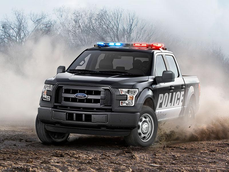 Ford S Newest F 150 Is A Badass Police Truck