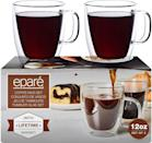 <p>Create the most Instagrammable drinks with these <span>Set of 2 Clear Double Wall Glasses by Eparé</span> ($35).</p>