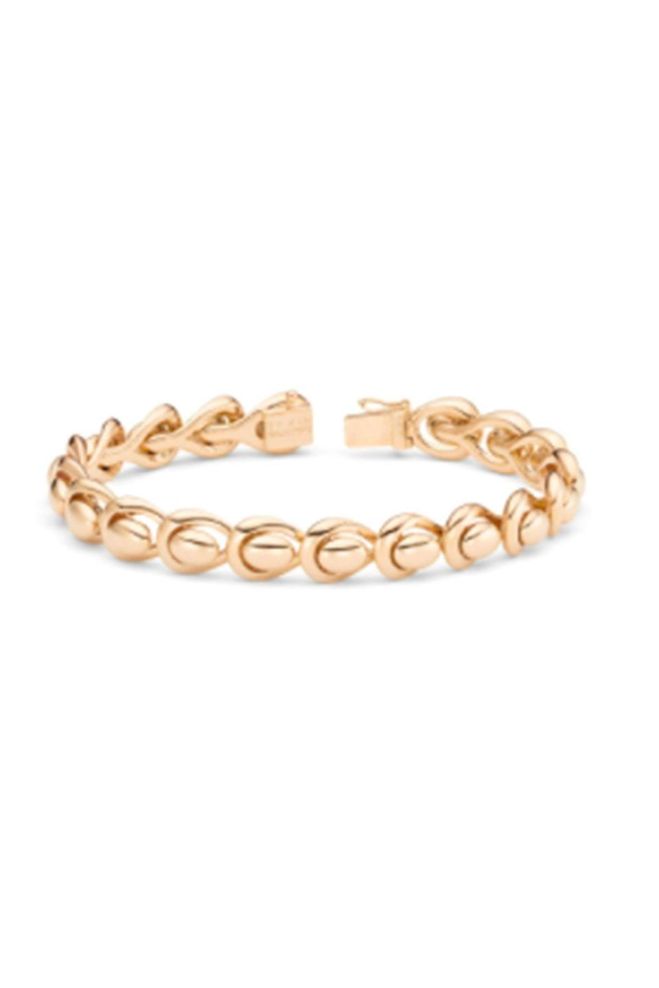 """<p><strong>By Kim</strong></p><p>wempe.com</p><p><a href=""""https://www2.wempe.com/en/jewelry/brands/by-kim/feel-me-by-kim/armband_50ab0317"""" rel=""""nofollow noopener"""" target=""""_blank"""" data-ylk=""""slk:Shop Now"""" class=""""link rapid-noclick-resp"""">Shop Now</a></p><p>This armband by Wempe is so well-designed that you'll forget you are wearing it... until someone compliments your great jewelry. </p>"""