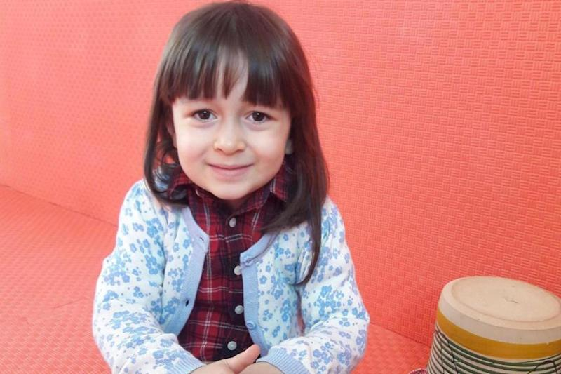 Three-year-old Gabriella Ratcliffe has been living with her grandparents ever since