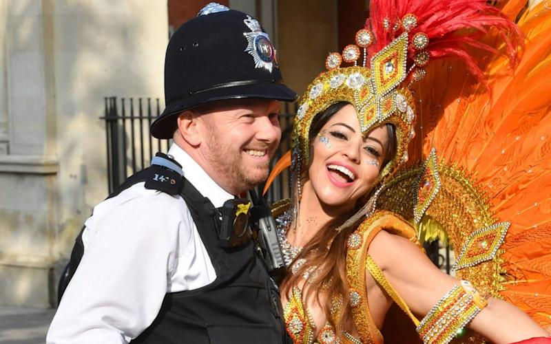 Around one million people will descend on the capital this bank holiday weekend to celebrate Notting Hill Carnival, Europe's largest street event - PA