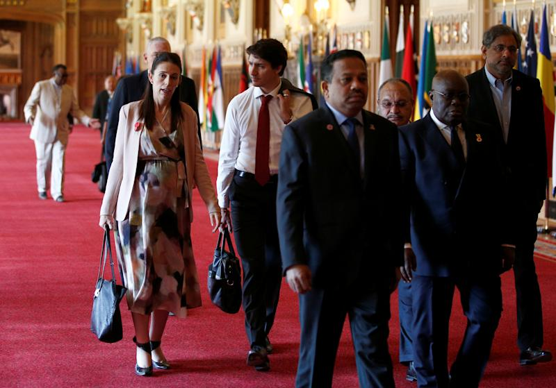 Reunión de la Commonwealth en 2018. (HENRY NICHOLLS/AFP via Getty Images)