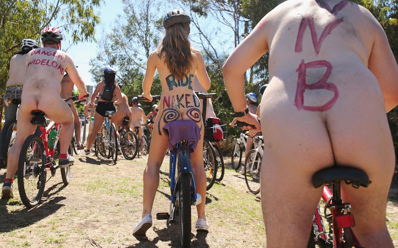 The Naked Bike Ride 3