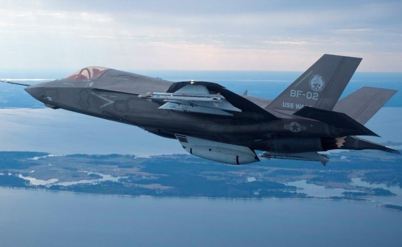 Up and away: A US Marine Corps F-35B. Picture: Lockheed Martin