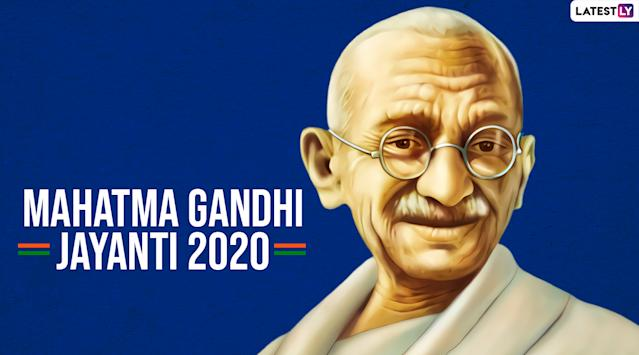 Gandhi Jayanti Images Hd Wallpapers For Free Download Online Wish Happy Gandhi Jayanti 2020 With Whatsapp Stickers And Gif Greetings