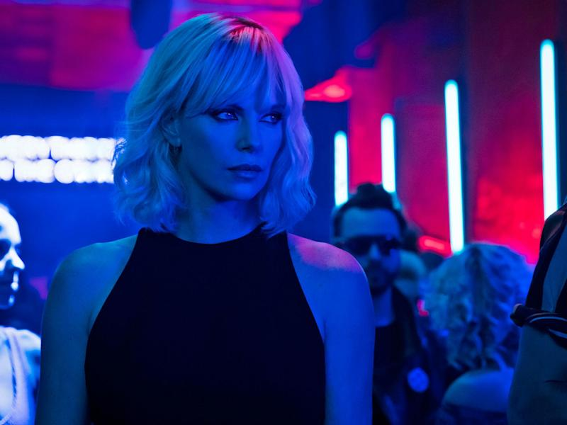 Charlize Theron stars in Atomic Blonde, made by her own production company: Focus Features LLC