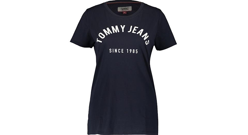 Tommy Jeans Navy Logo T Shirt