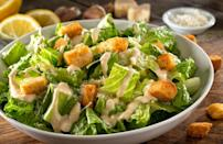 """<p>Garlic is packed with dynamic flavor <em>and</em> can ward off vampires. What's not to love? This recipe celebrates this treasured ingredient by formulating an entire salad around it.</p> <p><a href=""""https://www.thedailymeal.com/recipes/creamy-garlic-salad-recipe?referrer=yahoo&category=beauty_food&include_utm=1&utm_medium=referral&utm_source=yahoo&utm_campaign=feed"""" rel=""""nofollow noopener"""" target=""""_blank"""" data-ylk=""""slk:For the Creamy Garlic Salad recipe, click here."""" class=""""link rapid-noclick-resp"""">For the Creamy Garlic Salad recipe, click here.</a></p>"""