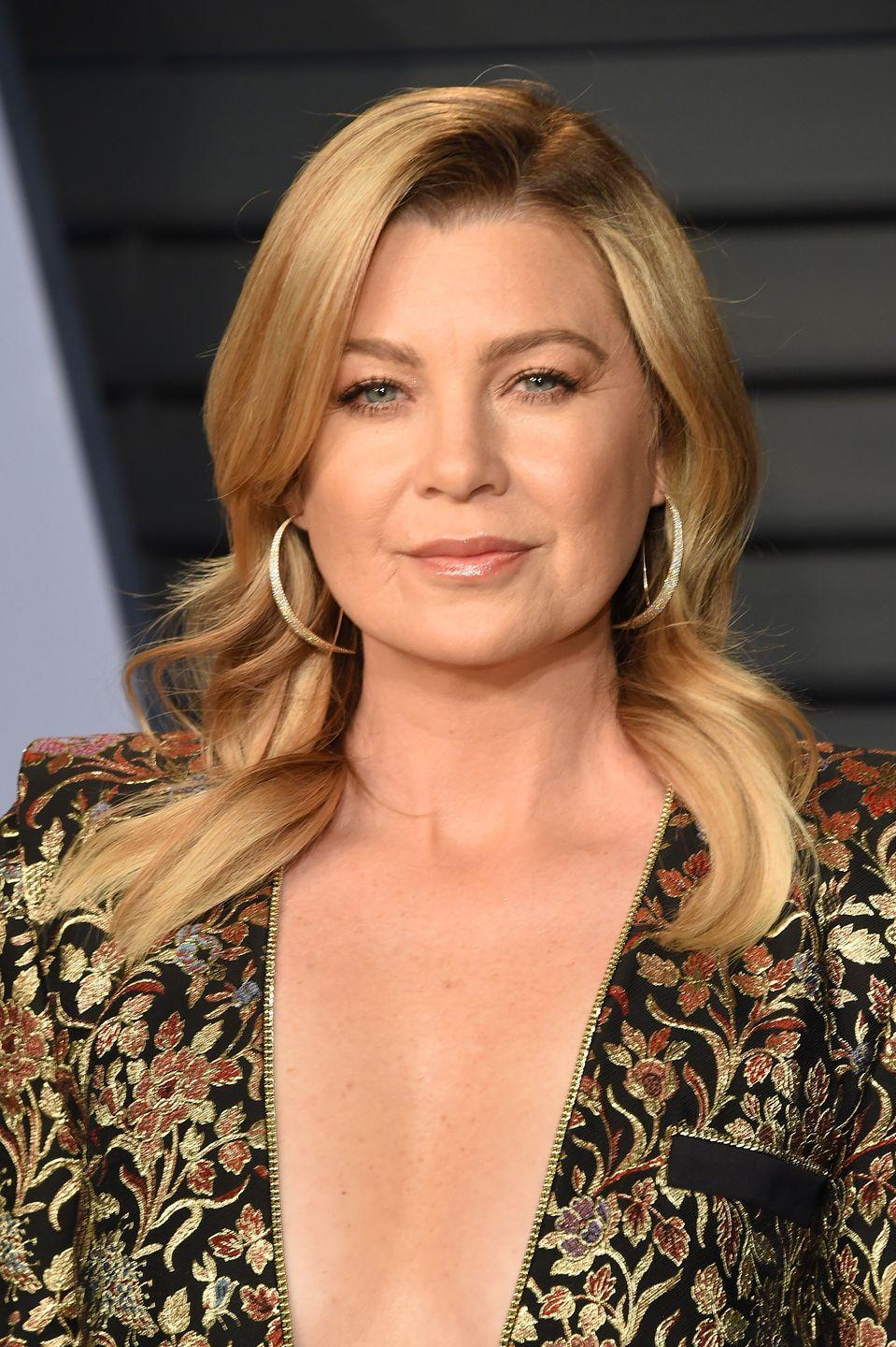 """<p>Before her career-making role in <em>Grey's Anatomy</em>, Ellen Pompeo was cast in <em>Eternal Sunshine of the Spotless Mind. </em>Pompeo filmed <a href=""""https://www.youtube.com/watch?v=IKc2tmyxNZk"""" rel=""""nofollow noopener"""" target=""""_blank"""" data-ylk=""""slk:numerous scenes with Jim Carrey"""" class=""""link rapid-noclick-resp"""">numerous scenes with Jim Carrey</a>, as his ex-girlfriend, but the <a href=""""https://www.indiewire.com/2018/01/eternal-sunshine-of-the-spotless-mind-deleted-scenes-change-movie-jim-carrey-1201912546/"""" rel=""""nofollow noopener"""" target=""""_blank"""" data-ylk=""""slk:director felt it was best to remove the character"""" class=""""link rapid-noclick-resp"""">director felt it was best to remove the character</a> entirely from the film. </p>"""