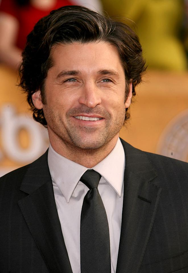 "<a href=""/patrick-dempsey/contributor/31744"">Patrick Dempsey</a> at the <a href=""/the-2007-screen-actors-guild-awards/show/40550"">13th Annual Screen Actors Guild Awards</a>."