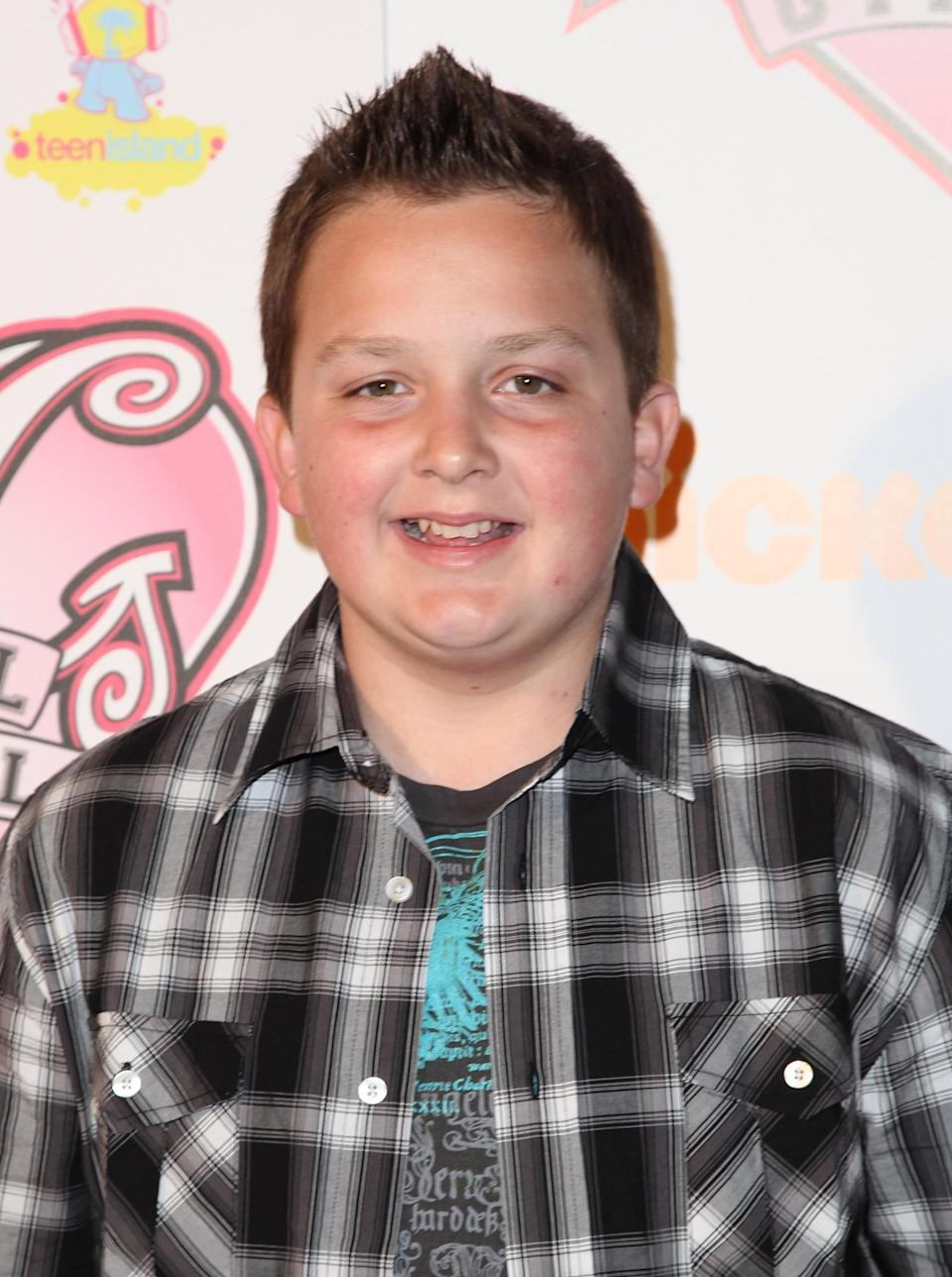 <p>The youngest of the bunch, Noah Munck was 11 years old when he joined the <strong>iCarly</strong> cast as the hilarious Gibby Gibson. <strong>iCarly</strong> was his first big TV credit. While Gibby started off as a recurring character, he eventually became a series regular after the show entered its fourth season.</p>