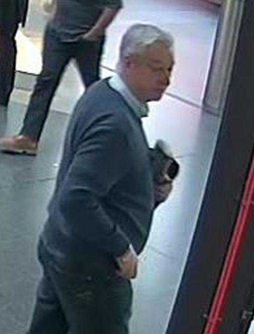 The force appealed for a man pictured in CCTV images to come forward (PA)