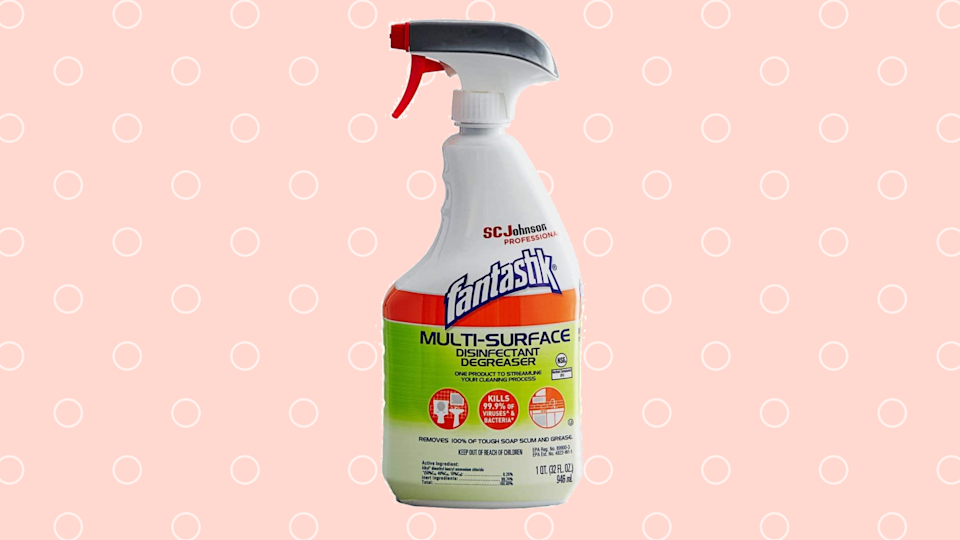 Finally! Fantastik Multi-Surface Disinfectant is back in stock! (Photo: Amazon)