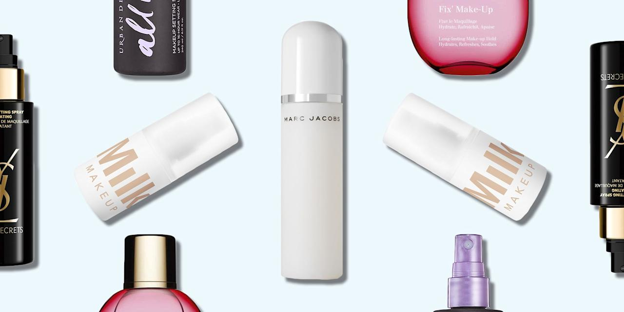 <p>You may think that make-up setting sprays are just another product to add onto an already too long routine but they should be a necessity. Not only do they feel bouji and relaxing to apply but these ones do actually make a difference. </p><p>If you're constantly reapplying bronzer during your lunch break, have to remember to blot every hour, or find your foundation is looking a tad cake-y, one spritz could save you a lot of time and, without all the constant reapplying, a lot of make-up.</p><p>Luckily for you we've done the hard part and rounded up the best make-up setting mists to conquer the 4pm melt on the post-work central line. </p><p><em>We earn a commission for products purchased through some links in this article.</em></p>