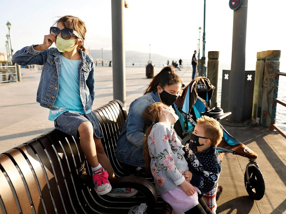 <p>A San Francisco family's nanny job advert went viral</p> (Christina House/Los Angeles Times/Shutterstock)