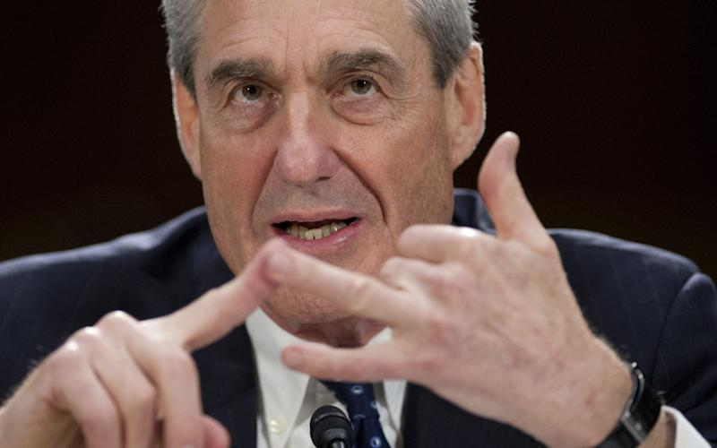 Robert Mueller, the special counsel leading the Russia investigation - AFP